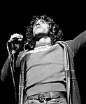 """The Who 1972 Roger Daltrey in 'Tommy"""" at the Rainbow.© Chris Walter."""