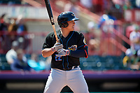 Akron RubberDucks Li-Jen Chu (22) at bat during an Eastern League game against the Erie SeaWolves on June 2, 2019 at UPMC Park in Erie, Pennsylvania.  Erie defeated Akron 8-5 in eleven innings of the second game of a doubleheader.  (Mike Janes/Four Seam Images)