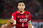 Feng Xiaoting of Guangzhou Evergrande FC reacts during their AFC Champions League 2017 Match Day 1 Group G match between Guangzhou Evergrande FC (CHN) and Eastern SC (HKG) at the Tianhe Stadium on 22 February 2017 in Guangzhou, China. Photo by Victor Fraile / Power Sport Images