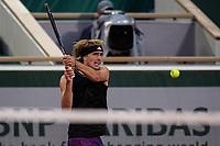 6th June 2021; Roland Garros, Paris France; French Open tennis championships day 8;  Alexander Zverev (Ger )