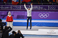 OLYMPIC GAMES: PYEONGCHANG: 16-02-2018, Gangneung Oval, Long Track, 5.000m Ladies, Final results, Martina Sabliková (CZE), ©photo Martin de Jong