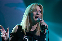 Nanette Workman<br />  sing at the Offenback reunion concert <br /> April 31, 2004 in Montreal<br /> <br /> In the 70s and 80s ; Offenbach was a Quebec Rock group made mostly of english musicians but fronted by francophone Gerry Boulet, who died of cancer July 18, 1990.<br /> <br /> <br /> photo : (c)  Images Distribution<br /> PHOTO D'ARCHIVE :  Agence Quebec Presse
