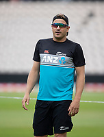 Neil Wagner, New Zealand during a training session ahead of the ICC World Test Championship Final at the Hampshire Bowl on 17th June 2021