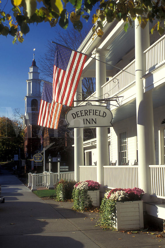Beerfield, Massachusetts, The Deerfield Inn in Historic Deerfield.