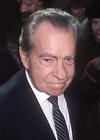 Richard Nixon 1990<br /> Photo By Adam Scull/PHOTOlink.net