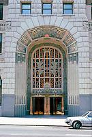 Vancouver: Marine Building Entrance.