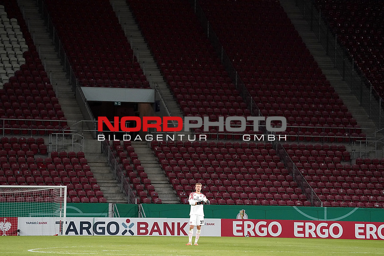 11.09.2020, Opel Arena, Mainz, GER, DFB-Pokal, 1. Runde TSV Havelse vs 1. FSV Mainz 05<br /> , im Bild<br />Torwart Robin Zentner (FSV Mainz 05)<br /> <br /> Foto © nordphoto / Bratic