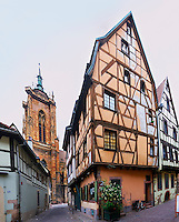old house on rue des marchands colmar alsace france