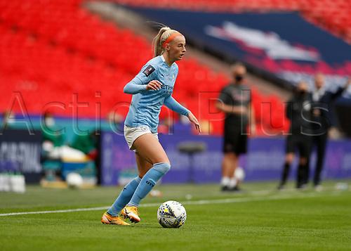 1st November 2020; Wembley Stadium, London, England; Womens FA Cup Final Football, Everton Womens versus Manchester City Womens; Chloe Kelly of Manchester City Women