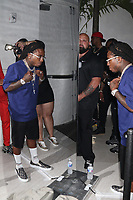 FT. LAUDERDALE, FL - FEBRUARY 28, 2021 - Jaquees   attends Floyd Mayweather's futuristic 44th birthday party at The Venue on February 18, 2021 in Fort Lauderdale, Florida. Photo Credit: Walik Goshorn/Mediapunch