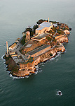 October 29, 2005; San Francisco, CA, USA; Aerial view of Alcatraz Island and the Golden Gate National Recreation Area in San Francisco Bay. Photo by: Phillip Carter