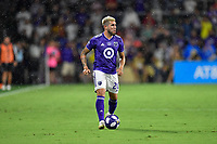 Orlando, FL - Wednesday July 31, 2019:  Alexandro Pozuelo #20 during the Major League Soccer (MLS) All-Star match between the MLS All-Stars and Atletico Madrid at Exploria Stadium.