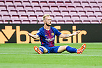 Ivan Rakitic of FC Barcelona reacts during the La Liga 2017-18 match between FC Barcelona and Las Palmas at Camp Nou on 01 October 2017 in Barcelona, Spain. (Photo by Vicens Gimenez / Power Sport Images
