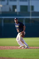 Evan Dickison (68), from Ashland, Kentucky, while playing for the Padres during the Baseball Factory Pirate City Christmas Camp & Tournament on December 28, 2017 at Pirate City in Bradenton, Florida.  (Mike Janes/Four Seam Images)