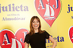 Spanish actress Michelle Jenner attends the photocall of presentation of the Pedro Almodovar's new film 'Julieta'. April 4, 2016. (ALTERPHOTOS/Acero)