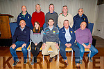 The Officers of Coiste na nÓg Chiarraí at their AGM in the Rose Hotel on Tuesday night.Seated l to r: Ger Hussey (Hurling Co-Ordinator, St Brendans), Mags Evans (Secretary, Keel), Tommy Cronin (Chairman, Fossa), Martin Sheehy (Vice Chair, Ballydonoghue) and Mike Hussey (Asst Treasurer, Ballyduff).<br /> Back l to r: Ger Lynch (U12 Co-Ordinator, Ballymac), Kieran Coffey (Registrar, Fossa), Damien McCarthy (PRO, Miltown/Castlemaine), Derek Daly (Treasurer, Churchill) and Billy Broderick (CCC Committee, C/island Desmonds).