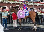 09042021:#3 WAR LIKE GODDESS ridden by Julien Leparoux trained by Bill Mott wins the The Flower Bowl (gr I) at Saratoga<br /> Robert Simmons/Eclipse Sportswire