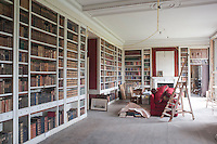 The restoration of the library took three months and now the books are ordered by period for easier reference