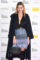 Petra Nemcova<br /> at The Design Museum opening party with Vogue, Kensington, London.<br /> <br /> <br /> ©Ash Knotek  D3203  22/11/2016
