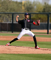 Bryan Bautista participates in the MLB International Showcase at Salt River Fields on November 12-14, 2019 in Scottsdale, Arizona (Bill Mitchell)