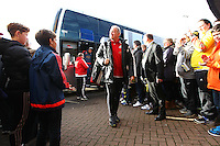 Alan Curtis caretaker manager of Swansea arriving   before  the Emirates FA Cup 3rd Round between Oxford United v Swansea     played at Kassam Stadium  on 10th January 2016 in Oxford