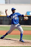 Sugar Ray Marimon - Kansas City Royals 2009 Instructional League. .Photo by:  Bill Mitchell/Four Seam Images..