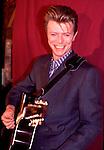 David Bowie 1990<br /> © Chris Walter
