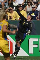 Caroline Joensson, Germany 2-1 over Sweden at the  WWC 2003 Championships.
