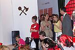 25.05.2012. Prince Felipe of Spain and Princess Letizia attend the inauguration of the Book Fair 2012 at the Retiro in Madrid. In the image Elena de Borbon, Letizia Ortiz and Felipe de Borbon (Alterphotos/Marta Gonzalez)