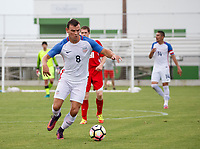 Lakewood Ranch, FL - Sunday July 23, 2017: Andrew Bremer during an international friendly match between the paralympic national teams of the United States (USA) and Canada (CAN) at Premier Sports Campus at Lakewood Ranch.