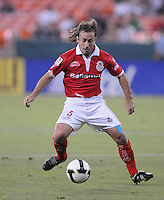 Toluca FC Martín Romagnoli. Toluca FC defeated DC United 3-1in the Concacaf Champions League tournament,at RFK Stadium Wednesday, August 26  2009.