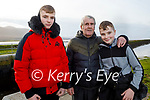 Enjoying a stroll in Lohercanon on Friday, l to r: Dylan Moriarty, Liam Powell and Jonathan Moriarty