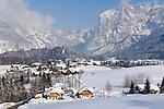 Austria, Styria, Styrian Salzkammergut, Altausseerland, community Altaussee, district Lupitsch: deeply snowed in