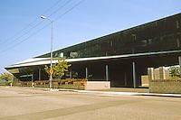 Eric Owen Moss: Stealth Building et al. 3528 Hayden Ave., Culver City, 2001. Photo 1999.