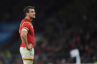 Sam Warburton of Wales during Match 35 of the Rugby World Cup 2015 between Australia and Wales - 10/10/2015 - Twickenham Stadium, London<br /> Mandatory Credit: Rob Munro/Stewart Communications