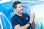 Atletico de Madrid's coach Diego Pablo Cholo Simeone during friendly match. August 12,2017. (ALTERPHOTOS/Acero)