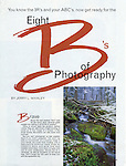 Peterson's Photographic Magazine Article, 1993, Eight B's of Photography