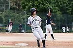 #23 Abe Nozomi of Japan runs after bating during the BFA Women's Baseball Asian Cup match between Japan and Hong Kong at Sai Tso Wan Recreation Ground on September 5, 2017 in Hong Kong. Photo by Marcio Rodrigo Machado / Power Sport Images