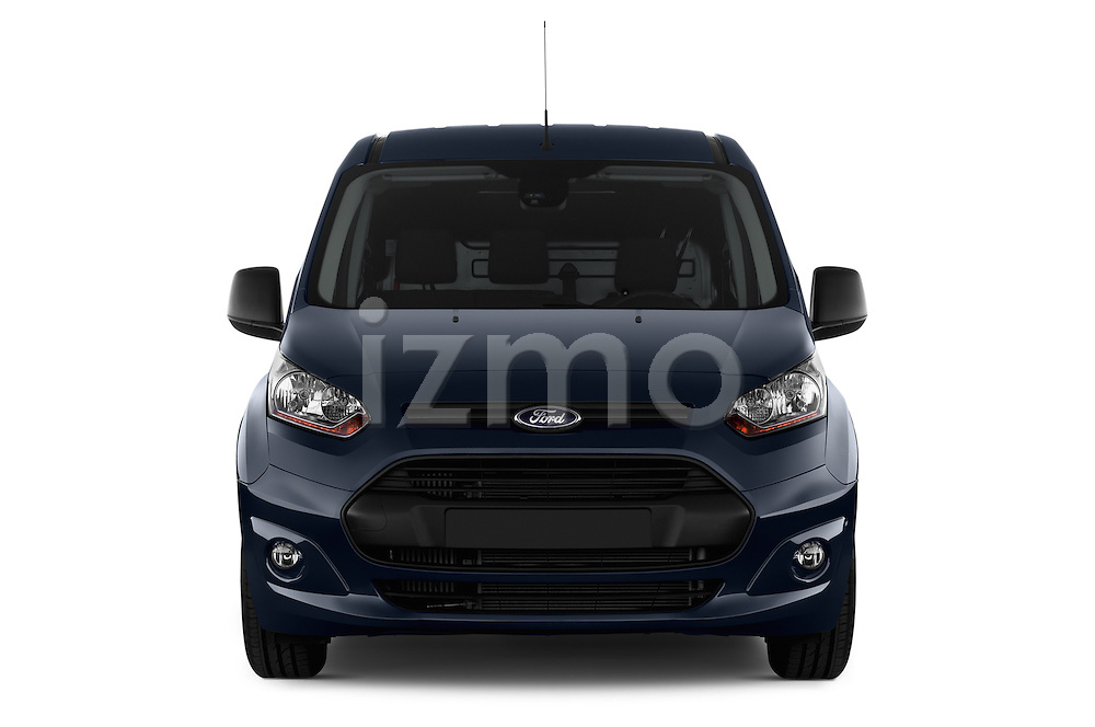 Straight front view of a 2014 Ford Transit Connect Trend 5 Door Minivan 2WD