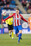 Kevin Gameiro of Atletico de Madrid in action during their Copa del Rey 2016-17 Quarter-final match between Atletico de Madrid and SD Eibar at the Vicente Calderón Stadium on 19 January 2017 in Madrid, Spain. Photo by Diego Gonzalez Souto / Power Sport Images