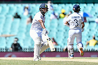 11th January 2021; Sydney Cricket Ground, Sydney, New South Wales, Australia; International Test Cricket, Third Test Day Five, Australia versus India; Cheteshwar Pujara of India  runs between wickets