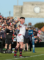 Monday 19th March 2018 |  Ulster Schools Cup Final 2018<br /> <br /> Jack Treanor during the 2018 Ulster Schools Cup Final between the Royal School Armagh and Campbell College at Kingspan Stadium, Ravenhill Park, Belfast, Northern Ireland. Photo by John Dickson / DICKSONDIGITAL