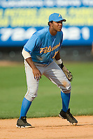 Myrtle Beach shortstop Elvis Andrus (17) on defense versus Winston-Salem at Ernie Shore Field in Winston-Salem, NC, Monday, May 28, 2007.