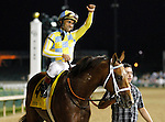 June 13, 2015:  Noble Bird and jockey Shaun Bridgmohan win the Stephen Foster Handicap Grade 1 $500,000 at Churchill Downs for trainer Mark Casse and owner John Oxley.  Candice Chavez/ESW/CSM