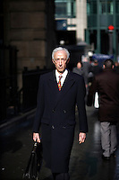 Charles Shaver, a management consultant in the City of London. The UK went into recession in the final quarter of 2008 as the City was hit hard by the global credit crunch.