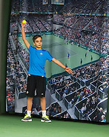 Januari 24, 2015, Rotterdam, ABNAMRO, Supermatch, ballboy<br /> Photo: Tennisimages/Henk Koster