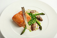 Chef's Olivier Reginensi salmon dish