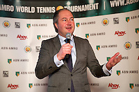 Rotterdam, Netherlands, Januari 06, 2016,  Press conference ABNAMROWTT, Patrick Pfaff<br /> Photo: Tennisimages/Henk Koster