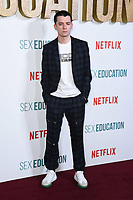 "Asa Butterfield<br /> arriving for the ""Sex Education"" season 2 launch at Genesis Cinema Mile End Road, London.<br /> <br /> ©Ash Knotek  D3547 08/01/2020"