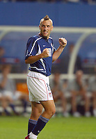 Clint Mathis. The USA lost 3-1 against Poland in the FIFA World Cup 2002 in Korea on June 14, 2002.